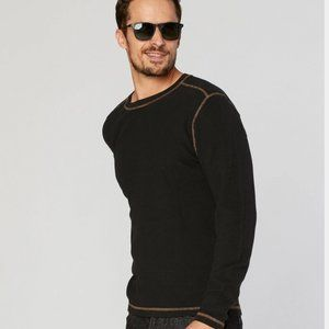 AGAVE LUX long sleeve thermal style gold thread M